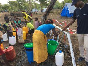 Emergenza Mozambico 2019 - Fornitura Acqua potabile